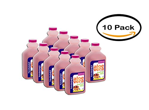 PACK OF 10 - Fruit of the Earth Wild Berry Aloe Vera Whole Leaf Juice, 32 fl oz