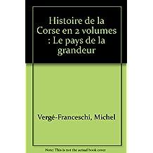 COFFRET HISTOIRE DE LA CORSE N.E.