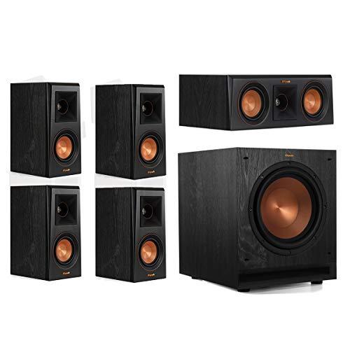 Klipsch RP-400M 5.1 Home Theater System – Ebony
