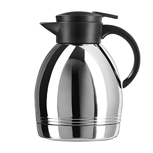 Emsa Konsul Quick-Tip Stainless Steel 44-Ounce Insulated Carafe (Konsul Quick Tip)