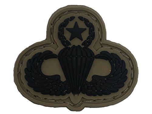 SUBDUED US ARMY MASTER PARACHUTIST PVC BADGE (Subdued Master)