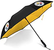 Betta Brella NFL Pittsburgh Steelers Better Brella Wind-Proof Umbrella
