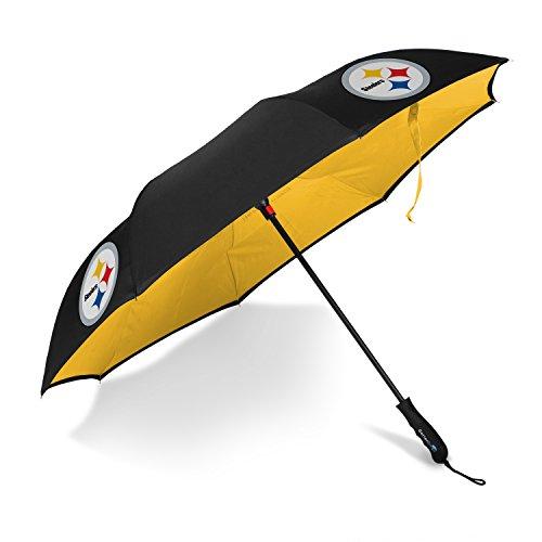 Betta Brella NFL Pittsburgh Steelers Better Brella Wind-Proof Umbrella -