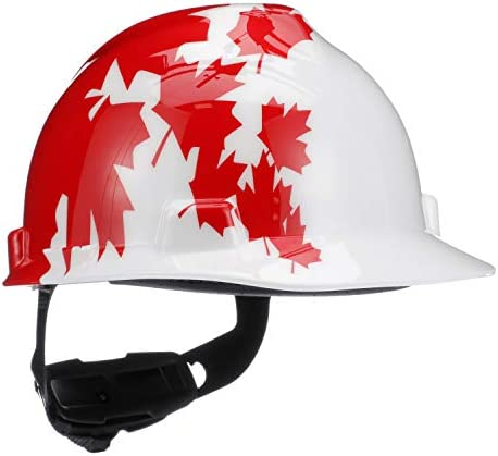 Loose Red Hard Hat with Earmuffs