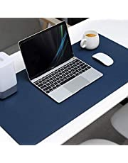 Mouse Pad Extended PU Leather, Tobeape Large Desk Mat,80x40cm Blotter Dual Sided Non Slip Water Resistant for Keyboard and Mouse