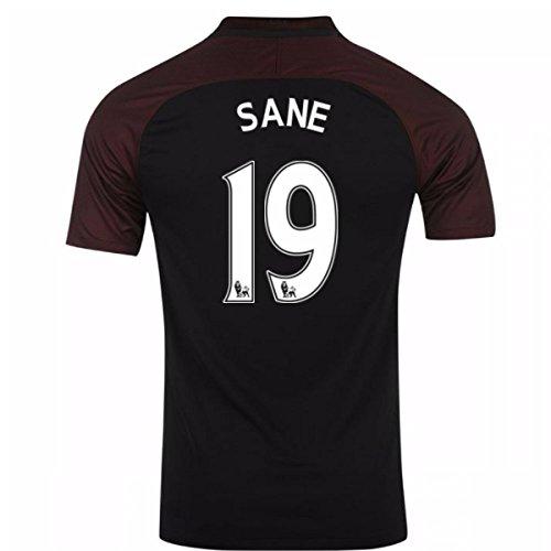 (UKSoccershop 2016-17 Manchester City Away Shirt (Sane 19) - Kids)