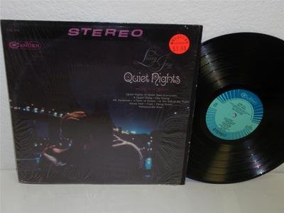 (LIVING JAZZ Quiet Nights LP RCA Camden CAS-914 stereo vinyl album strings)