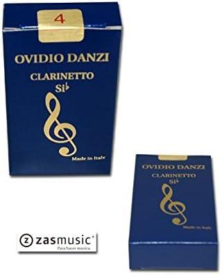 Caja de 10 cañas para clarinete en Si b DANZI 3: Amazon.es: Instrumentos musicales
