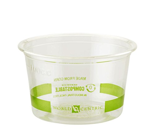 Corn Souffle (World Centric Compostable PLA Corn Souffle Cup, 4-Ounce - 110F, 1000 ct)