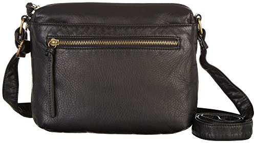 Bueno Washed Grainy Mini Crossbody Handbag One Size Black