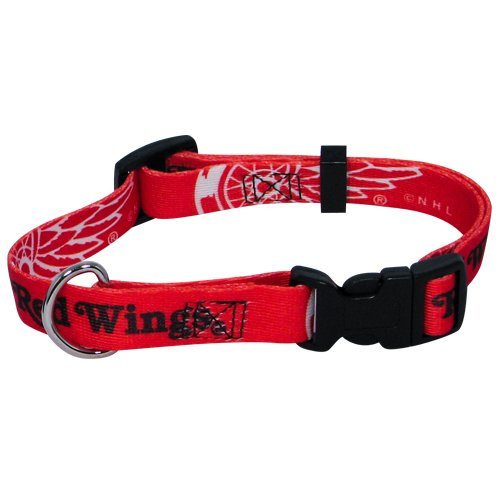 Hunter MFG Detroit Redwings Dog Collar, Large