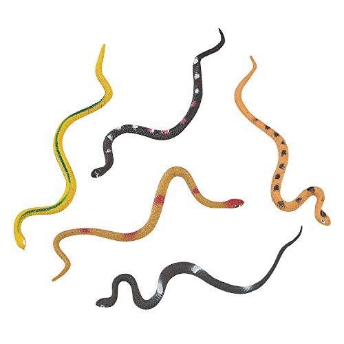 Fun Express 48 Vinyl Snakes Toys Party