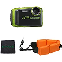 Fujifilm FinePix XP120 Waterproof Digital Camera International Model (Lime)