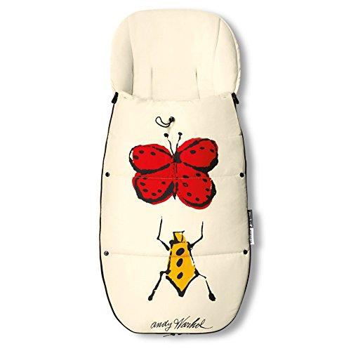 Bugaboo Universal Footmuff - Andy Warhol Bugs by Bugaboo