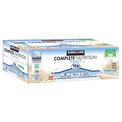 Kirkland Signature Expect More Complete Nutrition Shakes, 32-pack, 8.2 fl. oz. (Kirkland Complete Nutrition Shake For Weight Loss)