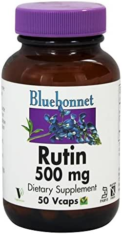 Bluebonnet Nutrition Rutin 500 mg 50 Veggie Caps
