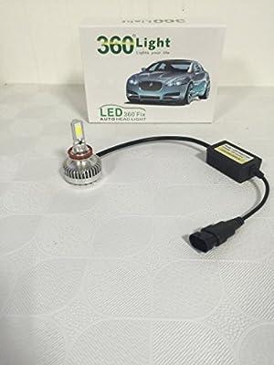 SUPERLT 360° LED Auto Headlight Bulbs High Power Ultra Bright