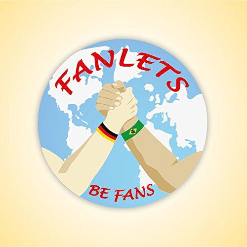Fanlets Fan-Armb/änder Polen Gr/ö/ße S