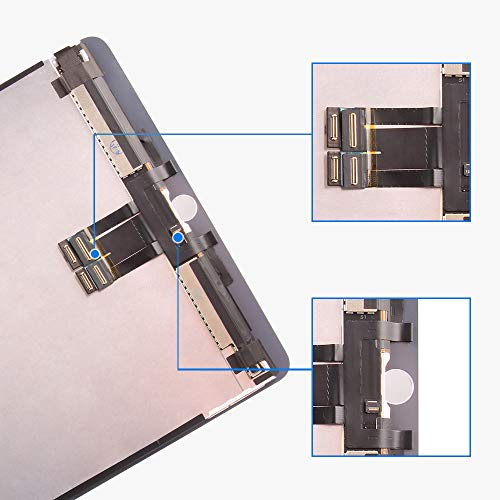 for iPad Pro 10.5 A1701 A1709 Screen Replacement LCD Display LCD Display Matrix Touch Screen Digitizer Tablet Assembly no Home Button EMC 3140 3141 by SRJTEK (Image #6)