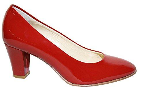 Lady Raffy ,  Damen Dekolletiert Rot
