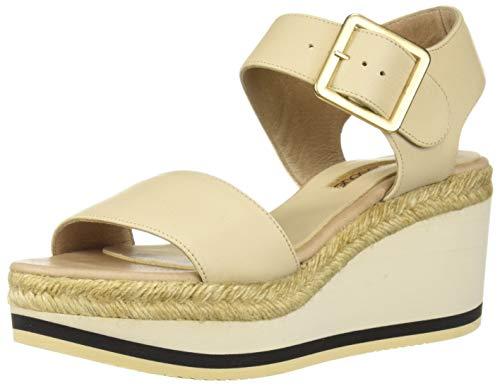 - Andre Assous Women's Carmela Espadrille Wedge Sandal Cream 6 M US