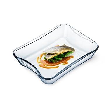 Simax Glassware 7226 Rectangular Casserole Pan, 3.5-Quart