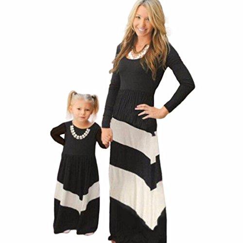 Vêtements Correspondant À La Famille Et Maman Anboo Fille De Couture De Bande Douce Casual