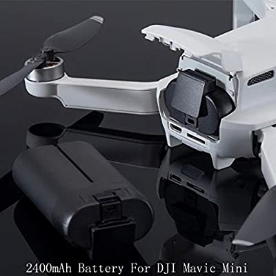 Littleice 2400mAh Battery for DJI Mavic Mini Intelligent Batteries Flight Drone Parts: Toys & Games
