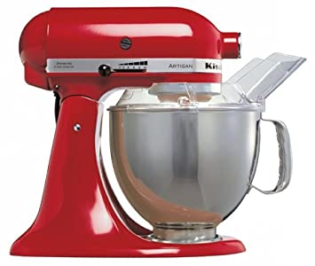 KitchenAid Artisan KSM150BER Stand Mixer Imperial Red: Amazon.co.uk on kitchen aid range red, emerson mixer red, kitchen aid food processor red, kitchen aid coffee maker red, 5 qt kitchenaid mixer red,