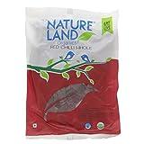 NatureLand Organics Red Chilli Whole 1.76 Ounce- USDA Certified