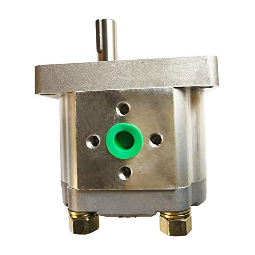 TIMEWAY CBN E Type Hydraulic Gear Oil Pump Hight Pressure 16Mpa~20Mpa Displacement 4ml/r~25ml/r Aluminum Body Keyed Shaft CW Rotation (CBN-E312-FPR)