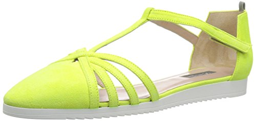 Sjp By Sarah Jessica Parker Womens Meteor Sneaker Attenzione Giallo Suede