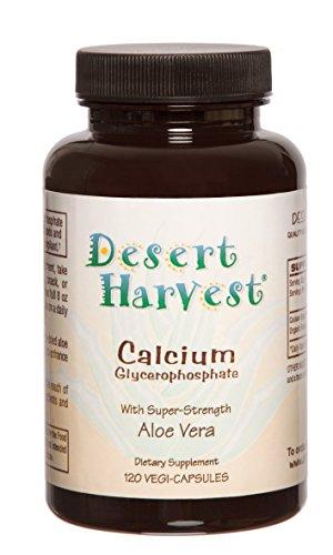 Interstitial Cystitis Starter Kit – Ideal Starter Supplements for IC/BPS. Super-Strength Aloe Vera Capsules + Calcium Glycerophosphate + Quercetin. Bladder Pain Relief, antihistamine, Acid Reducer by Desert Harvest (Image #1)
