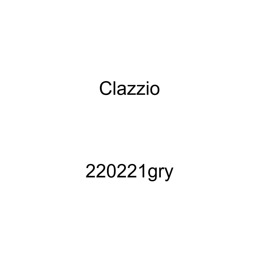 Clazzio 220221gry Grey Leather Front Row Seat Cover for Toyota Tundra Access Cab