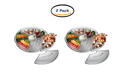 PACK OF 2 - Prodyne Appetizers-on-Ice Revolving (Prodyne Appetizers)