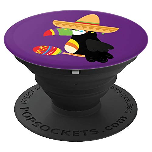 Toucan Bird Sombrero Maracas Festive Mexican - PopSockets Grip and Stand for Phones and Tablets