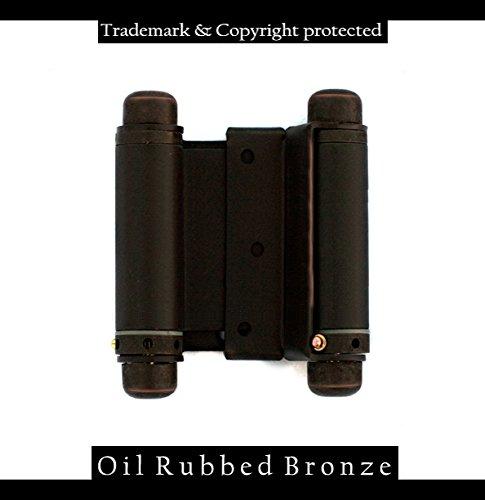 Brushed Brass Spring Hinges - 3