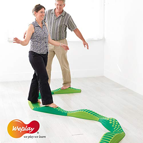 Weplay Wavy Tactile Path, Green by Weplay (Image #5)