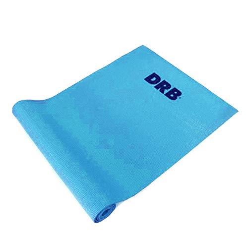 Tapete De Yoga Pilates Drb Colchonete Em Eva Azul