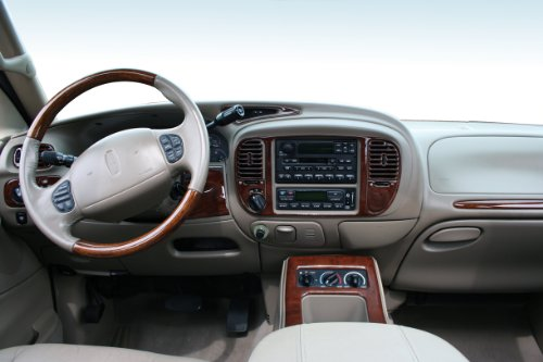 American Dash Trim - NAVIGATOR Lincoln Interior BURL Wood Dash Trim KIT Set 2000 2001 2002
