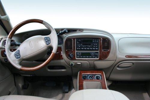 - NAVIGATOR Lincoln Interior BURL Wood Dash Trim KIT Set 2000 2001 2002