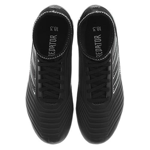 Negbás FG Adulto 000 de 18 J Ftwbla fútbol Botas 3 Predator Unisex adidas Negro wxPtzBqSnY