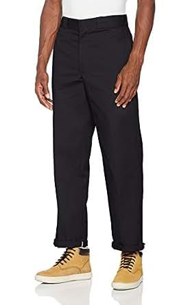 Dickies 874BK Pantalon para Hombre, Black, 28 30