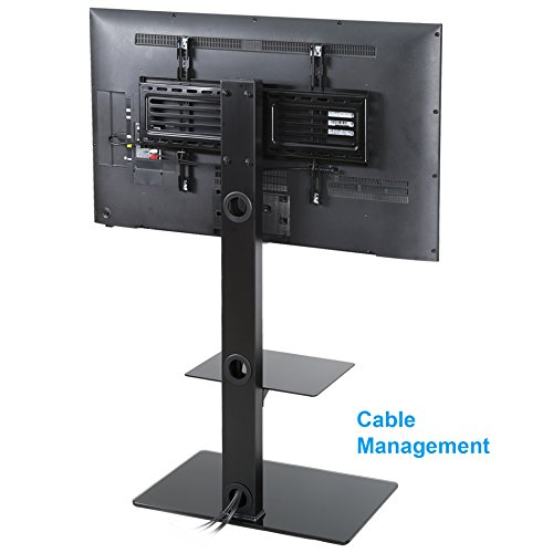 fitueyes tt207001mb swivel tv stand and mount for 32 65 inch in the uae see prices reviews and. Black Bedroom Furniture Sets. Home Design Ideas