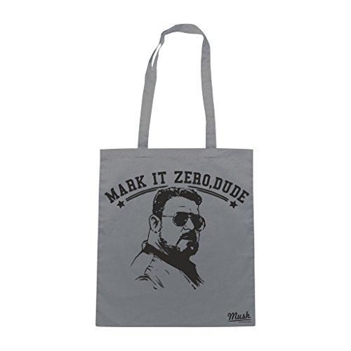 Borsa Mark It Zero Dude Big Lebowski - Grigia - Film by Mush Dress Your Style Venta Imágenes Línea Barata Auténtica Ebay En Línea Barata Venta Eastbay 6Fc3qO