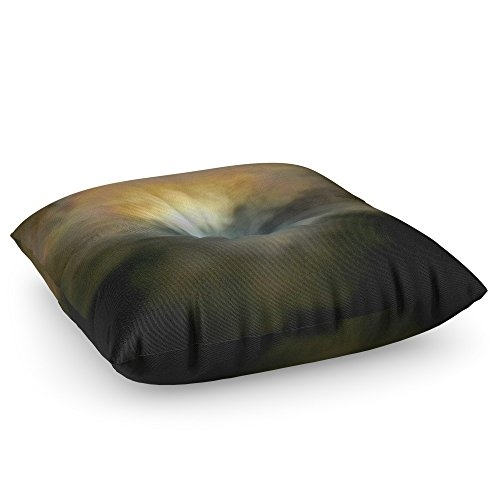 Society6 Solar Eclipse 2 Floor Pillow Square 26'' x 26'' by Society6