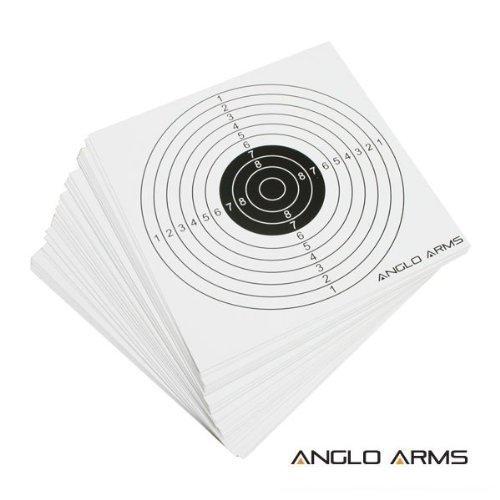 50x Paper Air Rifle Airgun Targets Airsoft Shooting Hunting BB