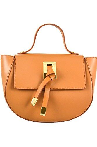 LuanaRomizi.com 8036P18IB - Bolso de asas para mujer Chocolate