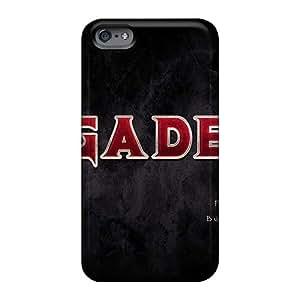 Iphone 6 YgQ758fyHZ Unique Design Fashion Megadeth Band Series Anti-Scratch Hard Phone Cover -AaronBlanchette