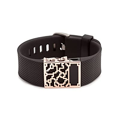 rose gold Positive Charge slide for Fitbit Charge & Charge HR